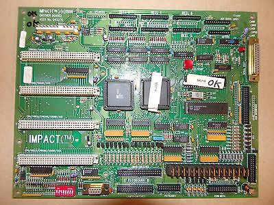 Impact PCB for fruit machines
