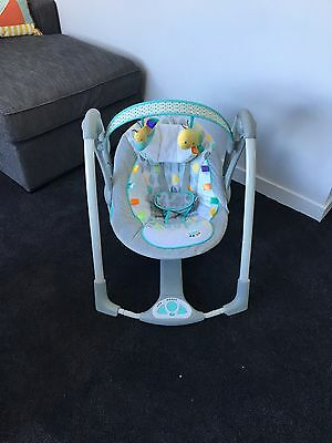 Taggies Baby Swing Like New Mobile Pick Up Templestowe Lower