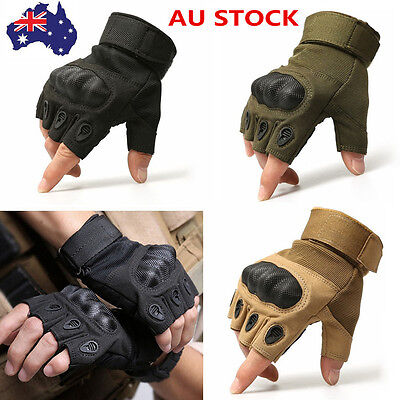 Tactical Gloves Half Finger Military Army Outdoor Motorcycle Cycling Fingerless