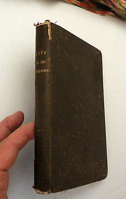 1853, A Story of Life on the Isthmus by Joseph W. Fabens, Putnam HB 1st, RARE!