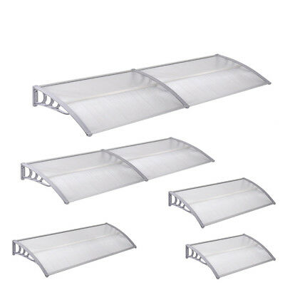 Front Door Porch Roof Canopy Rain Awning Shade Shelter Protection V2Aox