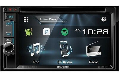 NEW!! Kenwood DDX374BT Double-DIN DVD Receiver with Bluetooth