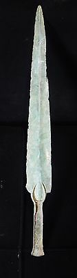 Zurqieh -  Over 3000 Years Old Bronze Short Sword- 1200 B.c , Stunning Quality!