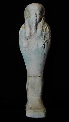Zurqieh - Nice Ancient Egyptian Faience Ushabti , 600 B.c