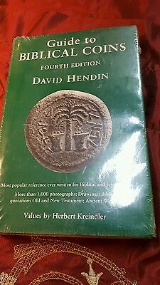 Guide to Biblical Coins, 4th Edition Hardcover – David Hendin