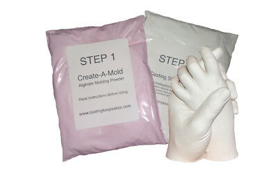 - REFILL  POWDERS -   for Luna Bean KEEPSAKE HANDS Plaster Casting Kit