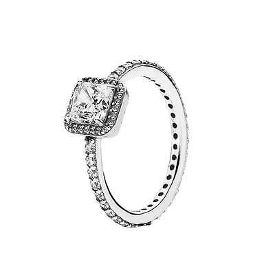 !!! Sale !!! Genuine Pandora Timeless Elegance Ring 190947Cz Sizes 52/54/56/58