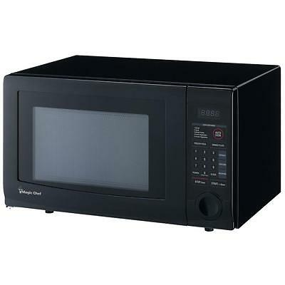 Magic Chef 1.1 cu. ft. 1000 Watt Countertop Microwave Oven in Black HMD1110B