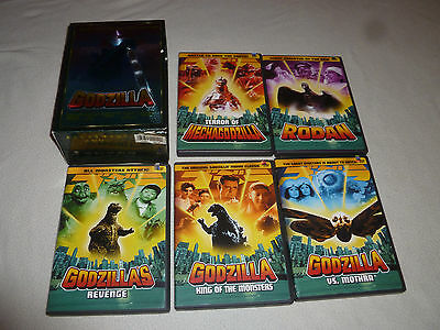 Boxed Set The Ultimate Godzilla Dvd Collection King On Monsters Revenge Cib