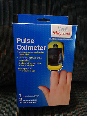 Walgreens Pulse Oximeter OxyWatch C20 438144 new in box