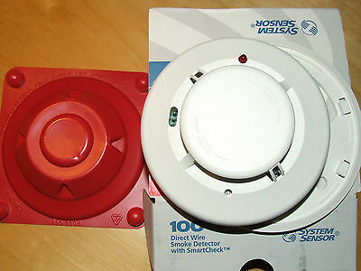 System Sensor 2100Ts 2-Wire Photoelectric Smoke Detector,nos