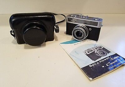 Canon Canonet 28 Rangefinder 35mm Camera W/ Original Case  *UNTESTED*