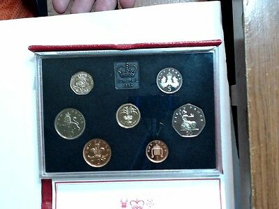 1985 UNITED KINGDOM Royal Proof Coin Collection