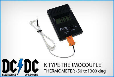TM902C K TYPE THERMOCOUPLE DIGITAL THERMOMETER -50 to 1300 deg