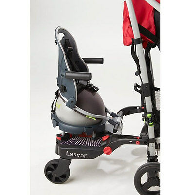 Brand new in box Revelo Buggypod perle clip on board & booster seat in grey