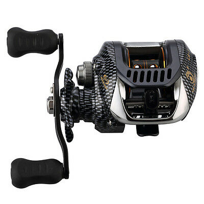 13BB Baitcaster Fishing Reel Magnetic Right Left Handed Baitcasting Lure Tackle