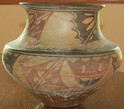 1900 San Ildefonso Pueblo Tribe Water Jar,Native American Used,Indian,New Mexico