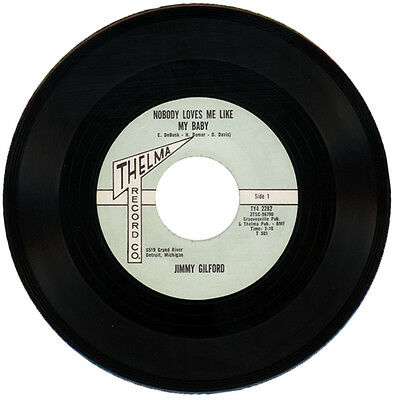 "Jimmy Gilford  ""nobody Loves Me Like My Baby""  Northern Soul / R&b    Listen!"