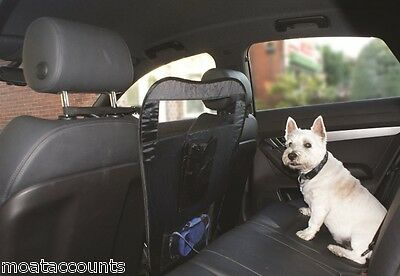 * Pack of 2 * Car Pet Barrier for between Car Seats SWPET4 Easy Fold and Storage