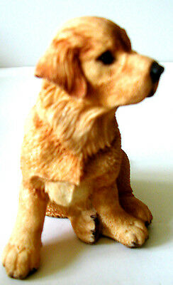 COUNTRY ARTISTS Adorable GOLDEN  RETRIEVER PUPPY #01924 New/ExcllntCndtn/Perfect