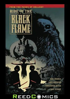 RISE OF THE BLACK FLAME GRAPHIC NOVEL Paperback Collect 5 Part Series BPRD's Foe