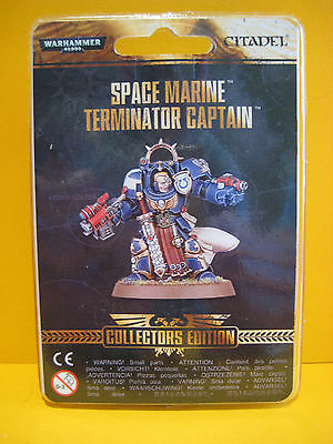 Warhammer 40k - Space Marines - Terminator Captain - Collectors Edition