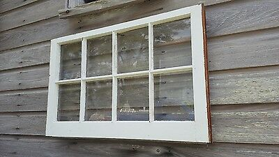 VINTAGE SASH ANTIQUE WOOD WINDOW  FRAME PINTEREST RUSTIC 36x20 8 PANE