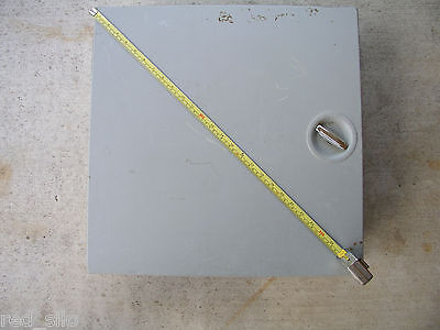 "Hoffman Type 1 Steel Enclosure 20"" x 20"" x 6.62"" (Box With Inside Panel)"
