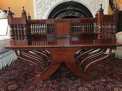 """Asian Chair Howdah Solid Thai Chinese Luohan  Ornate """"STUNNING"""" Paid £3,000 L@@K"""