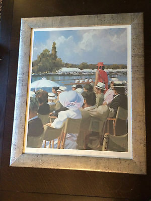 Signed limited edition print 145/850 Henley Regatta by Johnny Jonas