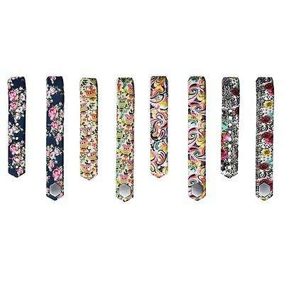 FLORAL 4PK Large Replacement Wristband Band Strap Bracelet For FITBIT ALTA HR