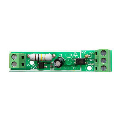 for PLC AC 220V 1-Bit Optocoupler Isolation Module Voltage Detect Board Adaptive