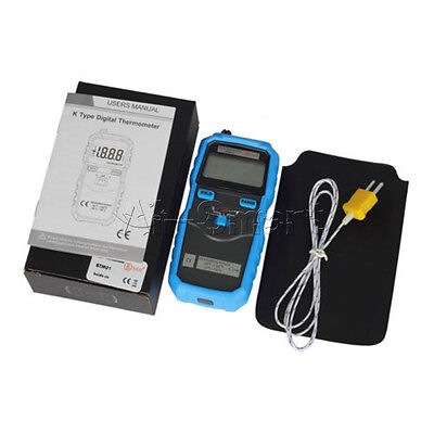 2-Channel Digital BSIDE BTM01 1.77IN  Handhold K-Type Temperature Thermometer