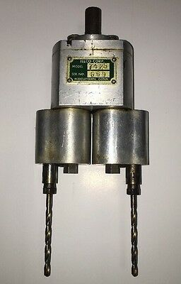 Vtg Telco Corp Jarvis Multi 2 Spindle Dual Tapping Drill Press Head Model 7425