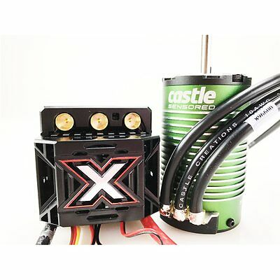 Castle Creations Mamba Monster X ESC And 2200KV 4 Pole Motor Sensored Brushless