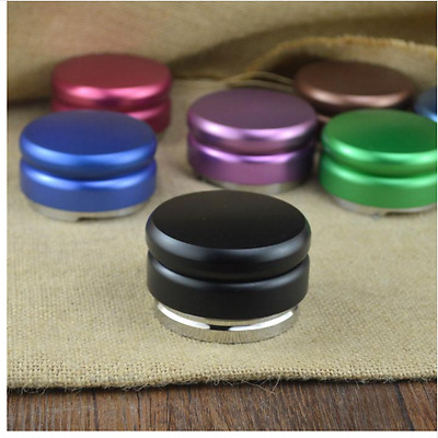 Coffee Espresso Tamper 58mm Stainless Steel Adjustable Palm Accessory Cafe Gear