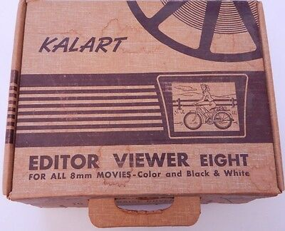Kalart Editor Viewer Eight For 8MM Movies R13986