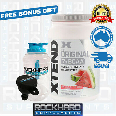 SCIVATION XTEND 90 SERVES BCAA's + ELECTROLYTES - BRANCHED CHAIN AMINO ACIDS