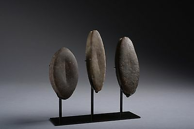 Collection of Three Viking Period Stone Strike Stones - 800 AD