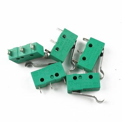 5PCS Hinge Lever Micro Limit Switch AC 125V 5A KW4-3Z-3  for Mill CNC 1U2373