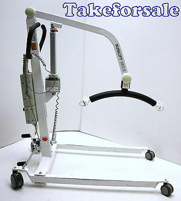 Patientenlifter Sunrise Medical Sunlift 150kg bel Patientenlift Akkus NEU TFS372