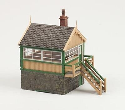 BACHMANN SCENECRAFT 44-0042 1:76 OO SCALE Timber & Stone Signal Box