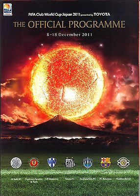 Fifa Club World Cup 2011 Official Mint Tournament Programme