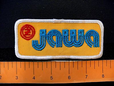 Embroidered patch JAWA CZ motorcycle Czechoslovakia biker vintage 1970s type A