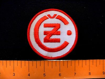 Embroidered patch CZ motorcycle JAWA Czechoslovakia biker vintage 1970s type B