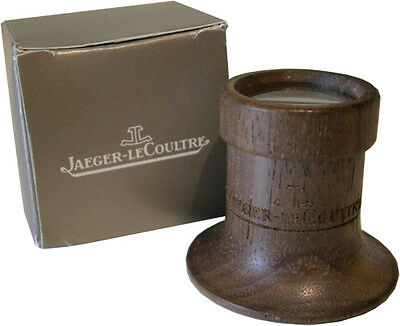 Jaeger LeCoultre Wooden Magnify Glass Lens Loupe Eyeglass Gift Box
