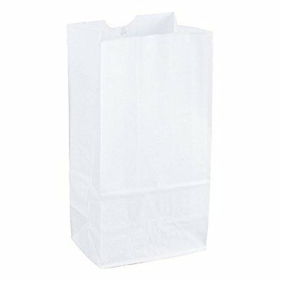 Duro Grocery/Lunch Lunch Bags Bag, Kraft Paper, Capacity, (100 Count) (White)