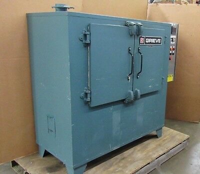 Grieve Hx-500 Horizontal Flow Electric Cabinet Oven 500°F 460V 3Ph 6.6Kw 1/2Hp