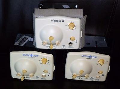 3 Medela Advanced Pump in Style Replacement Breast Pump Motors 9V-ALL WORKING!