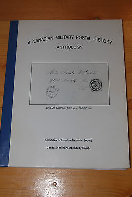 Weeda Literature: Canadian Military Postal History Anthology, BNAPS Study Group